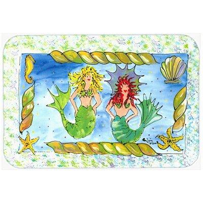 Mermaid Kitchen/Bath Mat Size: 20 H x 30 W x 0.25 D