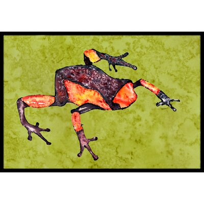 Frog Doormat Rug Size: Rectangle 16 x 2 3