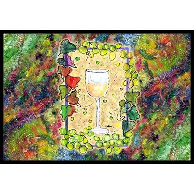 W Doormat Rug Size: 2 x 3