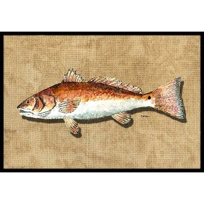 Fish Doormat Rug Size: 16 x 2 3