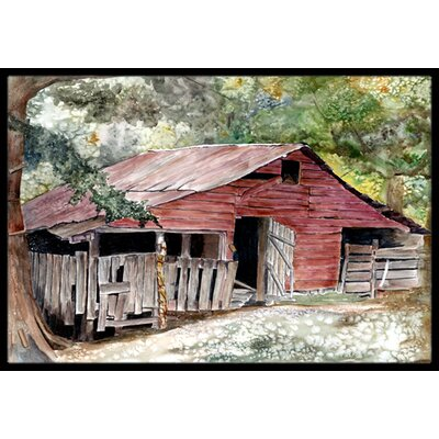 Old Barn Doormat Mat Size: Rectangle 2 x 3