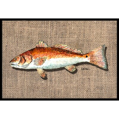 Fish Doormat Mat Size: Rectangle 16 x 2 3