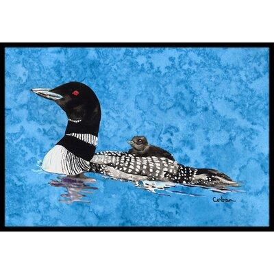 Loon Doormat Mat Size: Rectangle 2 x 3