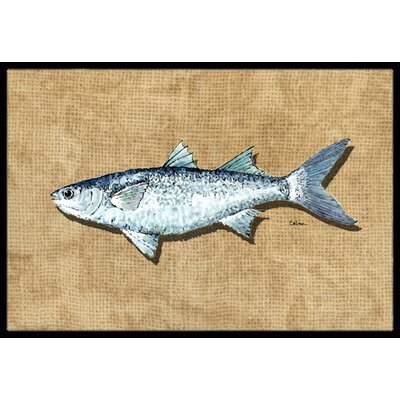 Mullet Doormat Mat Size: Rectangle 2 x 3