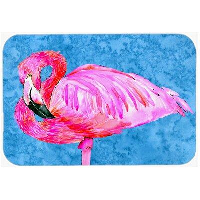 Flamingo Kitchen/Bath Mat Size: 24 H x 36 W x 0.25 D
