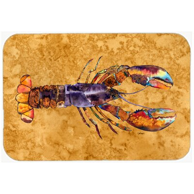 Lobster Kitchen/Bath Mat Size: 20 H x 30 W x 0.25 D