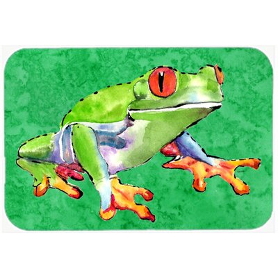Frog Kitchen/Bath Mat Size: 20