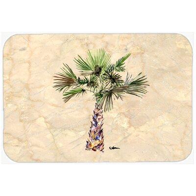 Palm Tree Kitchen/Bath Mat Size: 24 H x 36 W x 0.25 D