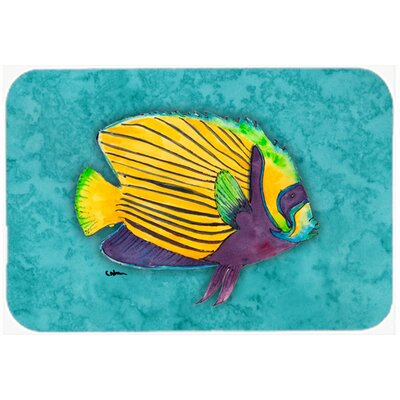 Fish Tropical Kitchen/Bath Mat Size: 20 H x 30 W x 0.25 D