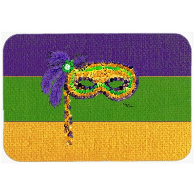 Mardi Gras Kitchen/Bath Mat Size: 20