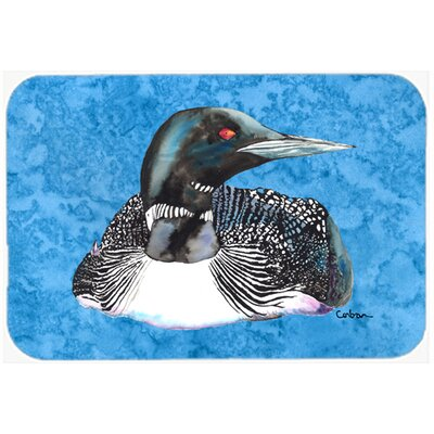 Loon Kitchen/Bath Mat Size: 20 H x 30 W x 0.25 D