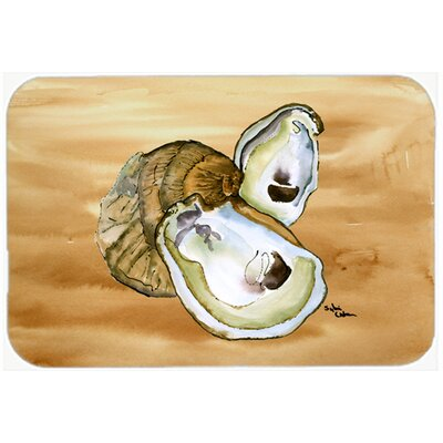 Oyster Kitchen/Bath Mat Size: 24