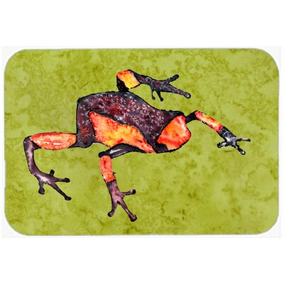 Frog Kitchen/Bath Mat Size: 20 H x 30 W x 0.25 D