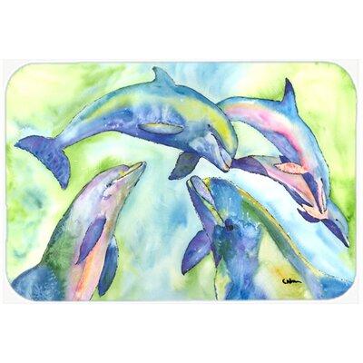 Dolphin Kitchen/Bath Mat Size: 24 H x 36 W x 0.25 D