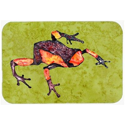 Frog Kitchen/Bath Mat Size: 24 H x 36 W x 0.25 D