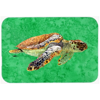 Turtle Kitchen/Bath Mat Size: 24 H x 36 W x 0.25 D