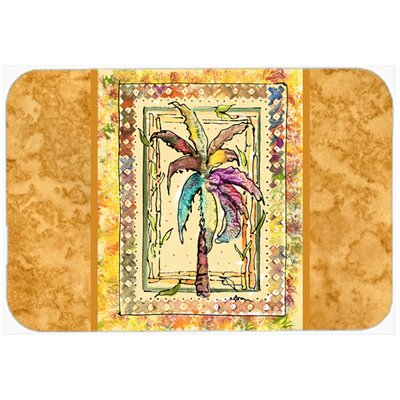 Palm Tree Kitchen/Bath Mat Size: 20 H x 30 W x 0.25 D