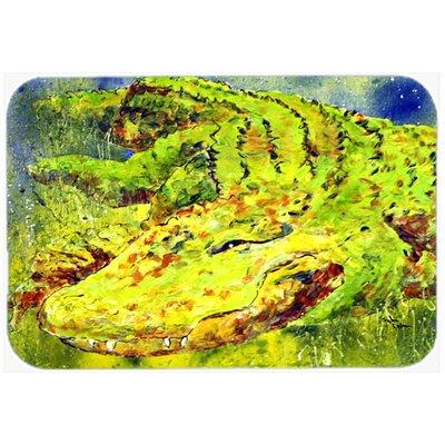 Alligator Kitchen/Bath Mat Size: 24