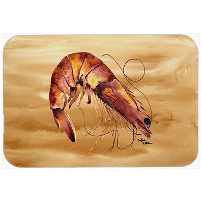 Shrimp Kitchen/Bath Mat Size: 24 H x 36 W x 0.25 D