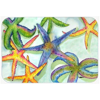 Starfish Kitchen/Bath Mat Size: 20 H x 30 W x 0.25 D