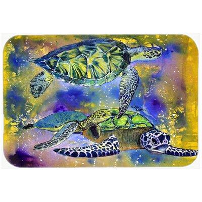 Turtle Kitchen/Bath Mat Size: 20 H x 30 W x 0.25 D