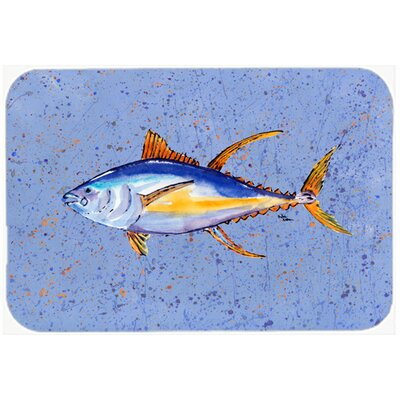 Tuna Fish Kitchen/Bath Mat Size: 24