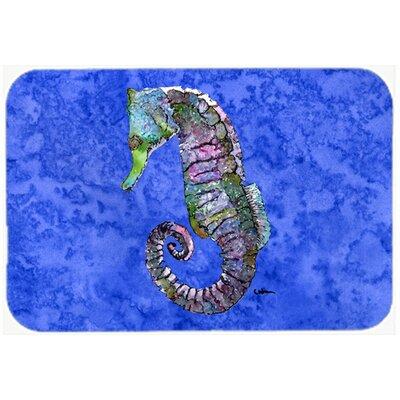 Seahorse Kitchen/Bath Mat Size: 20