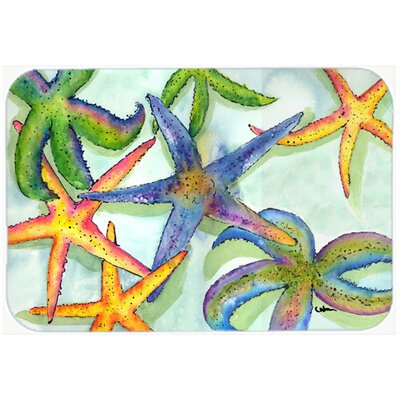 Starfish Kitchen/Bath Mat Size: 24 H x 36 W x 0.25 D