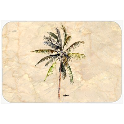 Palm Tree Kitchen/Bath Mat Size: 24 H x 36 W x 0.25 D