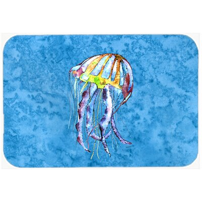 Jellyfish Kitchen/Bath Mat Size: 20 H x 30 W x 0.25 D