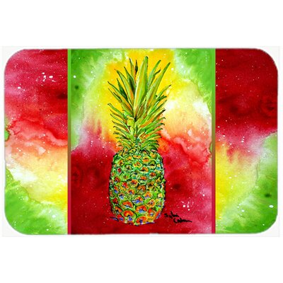 Pineapple Kitchen/Bath Mat Size: 20 H x 30 W x 0.25 D