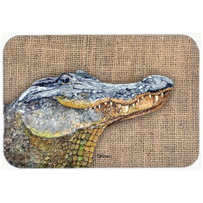 Alligator Kitchen/Bath Mat Size: 24 H x 36 W x 0.25 D