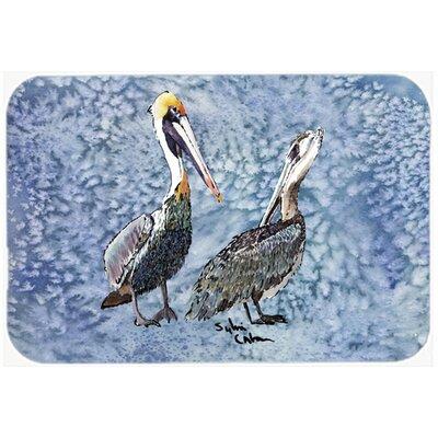Pelican Kitchen/Bath Mat Size: 20 H x 30 W x 0.25 D