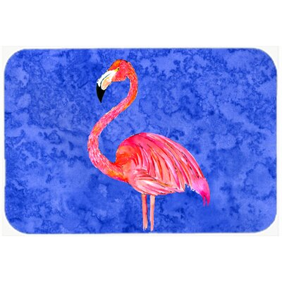 Flamingo Kitchen/Bath Mat Size: 24 H x 36 W x 0.25 D