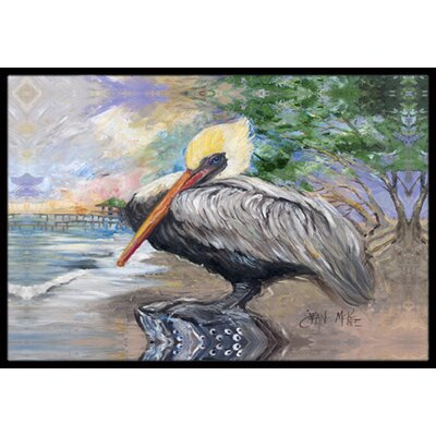 Pelican Bay Doormat Mat Size: Rectangle 2 x 3
