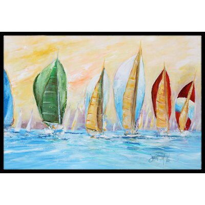 Regatta Doormat Mat Size: Rectangle 16 x 2 3
