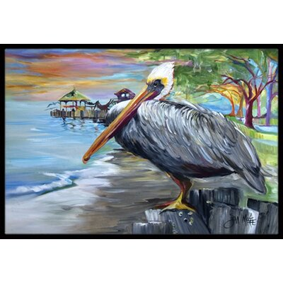 Pelican View Doormat Rug Size: Rectangle 2 x 3