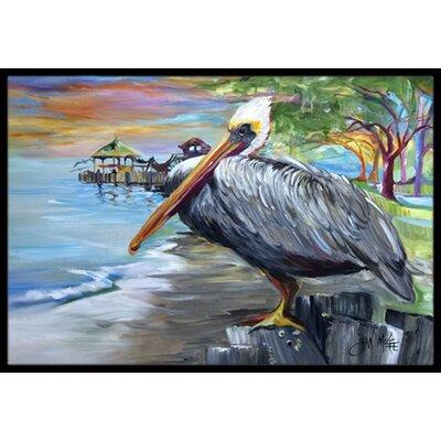 Pelican View Doormat Rug Size: 16 x 2 3