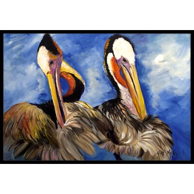 Pelican Brothers Doormat Rug Size: Rectangle 2 x 3