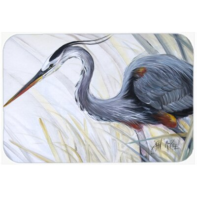 Heron Frog Huntg Kitchen/Bath Mat Size: 24 H x 36 W x 0.25 D