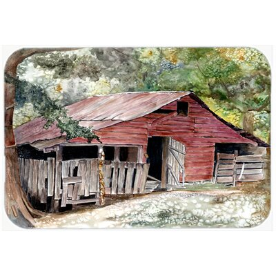 Old Barn Kitchen/Bath Mat Size: 24 H x 36 W x 0.25 D