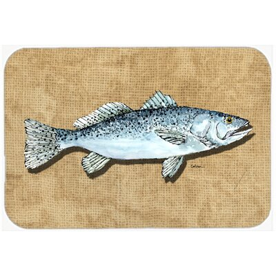 Speckled Trout Kitchen/Bath Mat Size: 24 H x 36 W x 0.25 D