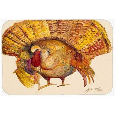 Turkey Kitchen/Bath Mat Size: 24 H x 36 W x 0.25 D