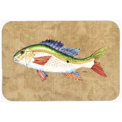 Rainbow Trout Kitchen/Bath Mat Size: 24 H x 36 W x 0.25 D