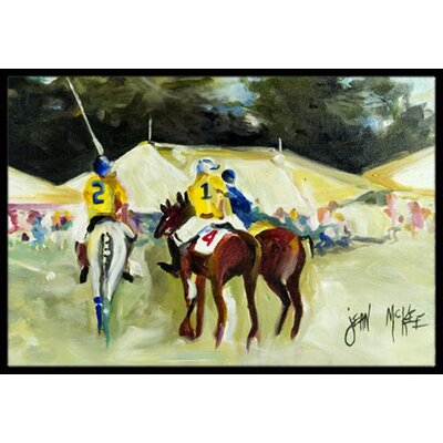 Polo at the Point Doormat Rug Size: 16 x 2 3