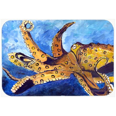 Octopus Kitchen/Bath Mat Size: 20 H x 30 W x 0.25 D