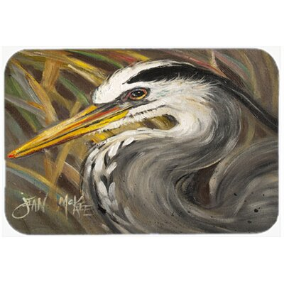 Heron Kitchen/Bath Mat Size: 24 H x 36 W x 0.25 D
