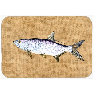 Tarpon Kitchen/Bath Mat Size: 24 H x 36 W x 0.25 D