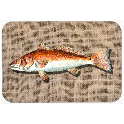 Fish Kitchen/Bath Mat Size: 20 H x 30 W x 0.25 D