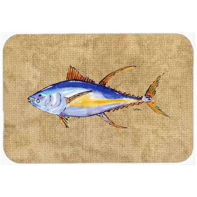 Tuna Fish Kitchen/Bath Mat Size: 24 H x 36 W x 0.25 D